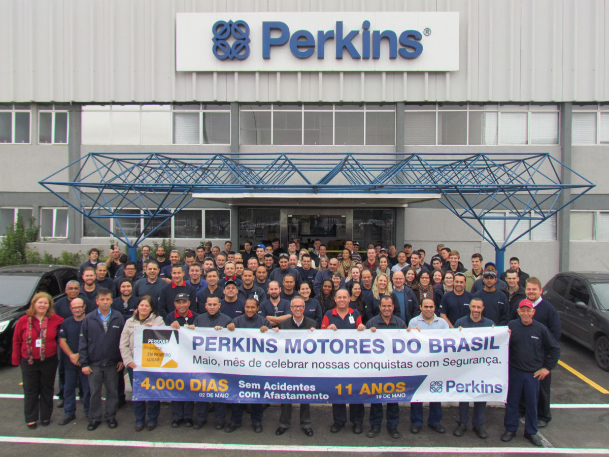 Perkins celebrates its safety record in Brazil