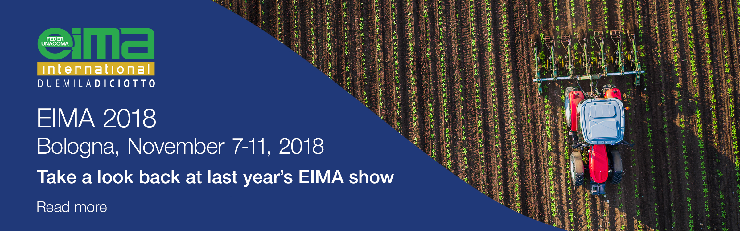 EIMA 2018 - Read more